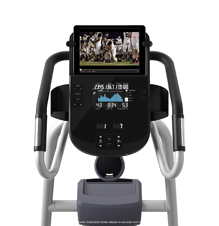 Precor elliptical new touch screen display