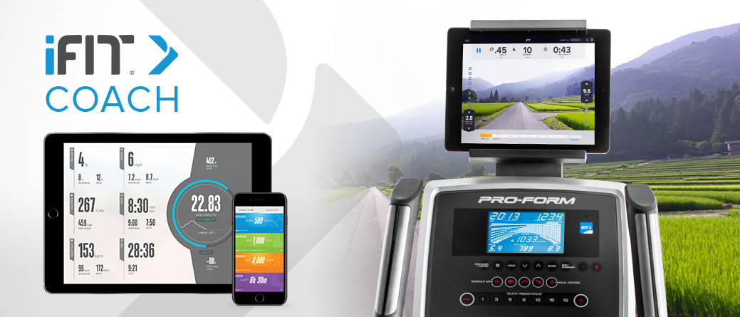 ProForm Endurance 520 E Console with iFit Coach and Google Maps