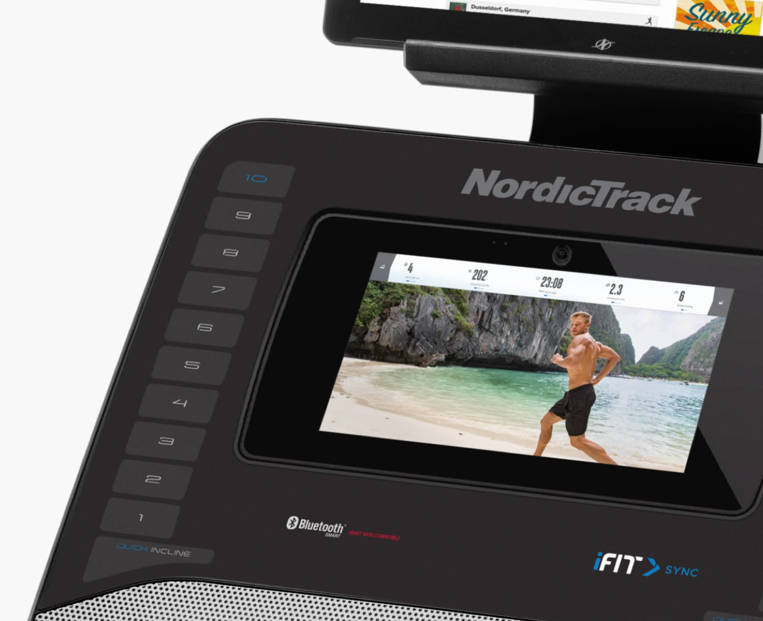 NordicTrack FreeStride Trainer FS7i Display With iFit and Google Maps