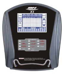 BH Fitness X3 Console
