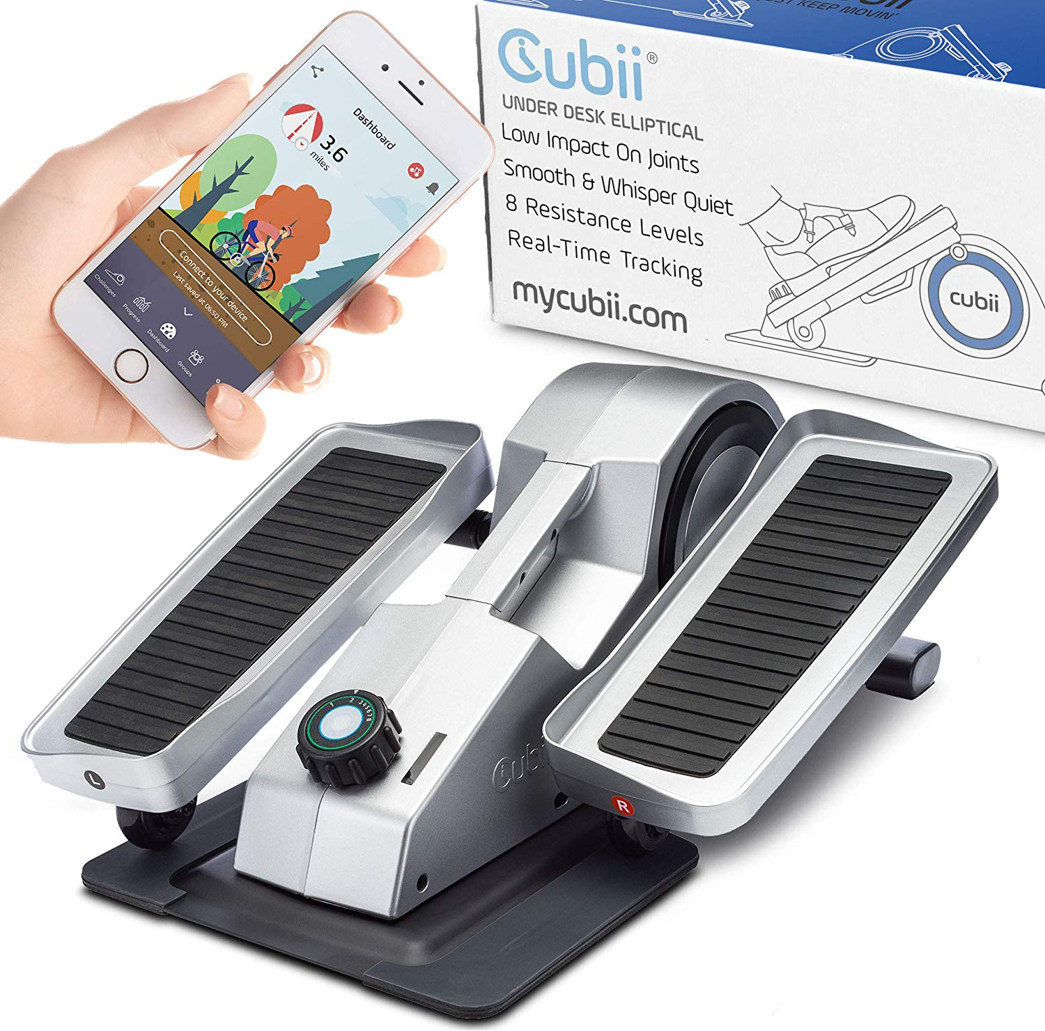 Cubii Elliptical - Pro Model With Bluetooth and Fitness App