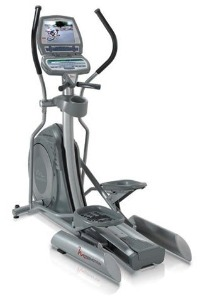 FreeMotion Commercial Elliptical Trainer with TV Console