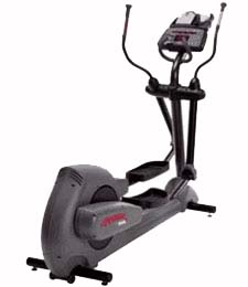 Used Elliptical Machines - Remanufactured Life Fitness 9500HR Elliptical Trainer from MegaFitness