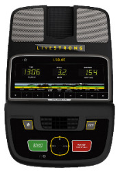 Livestrong LS8.0E Console
