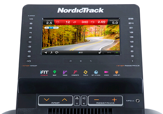 NordicTrack iFit Console - Enabled or Bluetooth