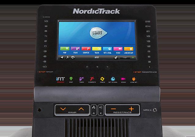 NordicTrack FreeStride Trainer FS9i Console