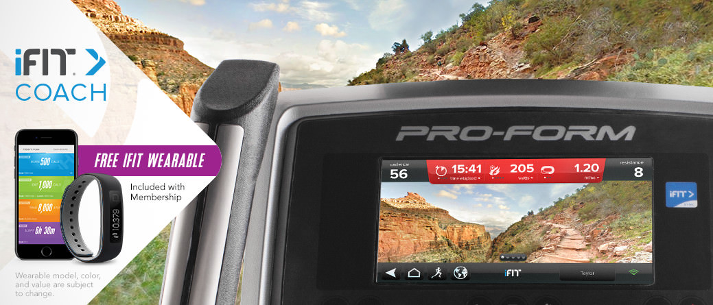 ProForm Endurance 920 E Console With iFit Coach