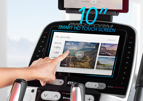 ProForm Elliptical - Smart HD touch screen console