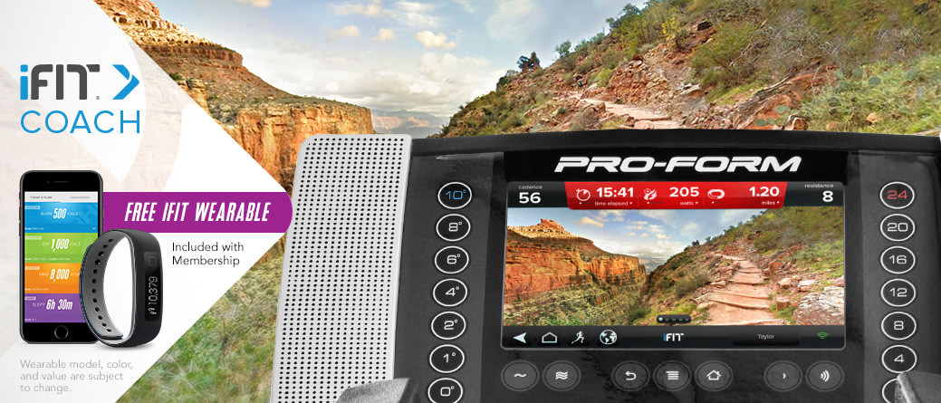 Proform Smart Strider 895 CSE Display