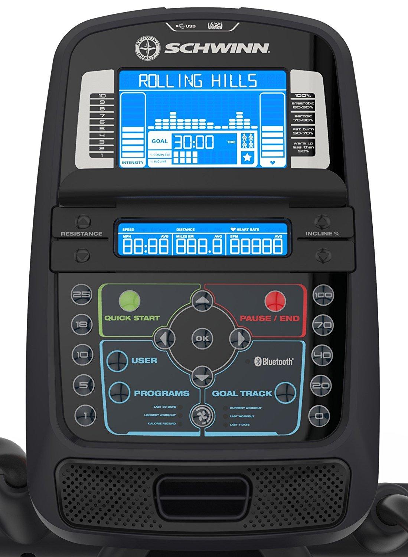 Schwinn 470 Console With Bluetooth