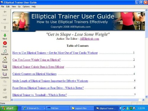 Click to view Elliptical Reviews 1.0 screenshot