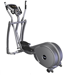 Smooth CE 3.2 Rear Drive Elliptical Trainer with pivoting foot pedals