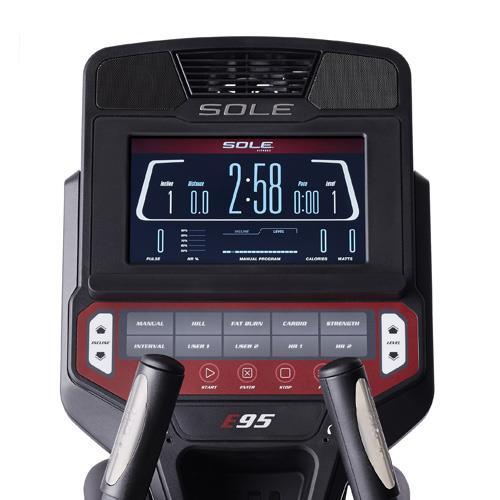 Sole Fitness E95 Console