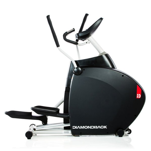 Diamondback 1260Ef Elliptical with Wireless Heart Rate and Multiple Workout Programs