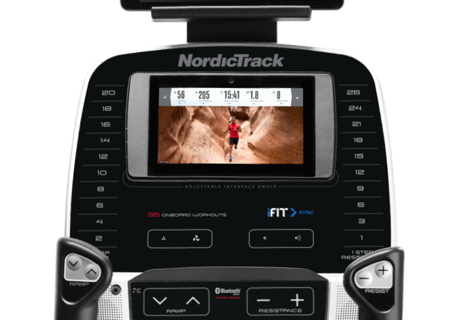 NordicTrack C 12.9 Console - 2018 Update With Google Maps
