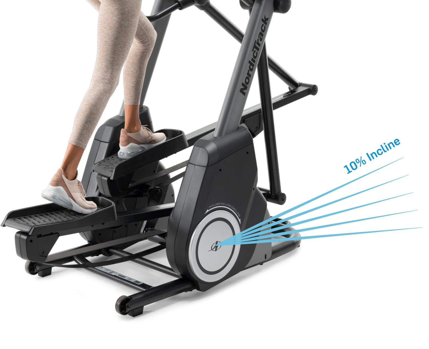 NordicTrack FS10i - Incline Capability to 10%