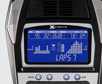 Xterra Elliptical Machine Console